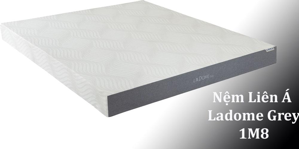 nệm Liên Á Ladome Grey 1M8